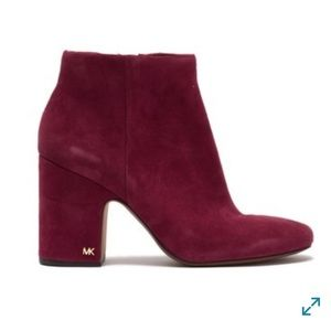 New Michael Kors Mulberry Sude Booties